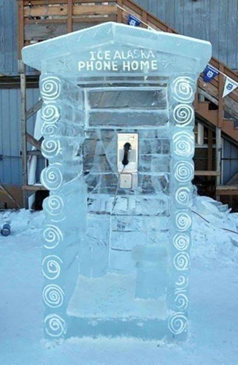 gadget cabine telephonique alaska