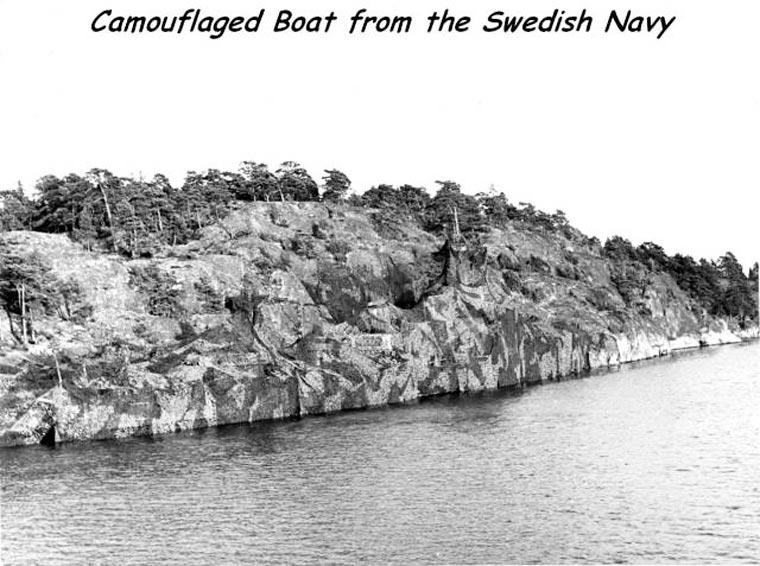 marine bateau camouflage