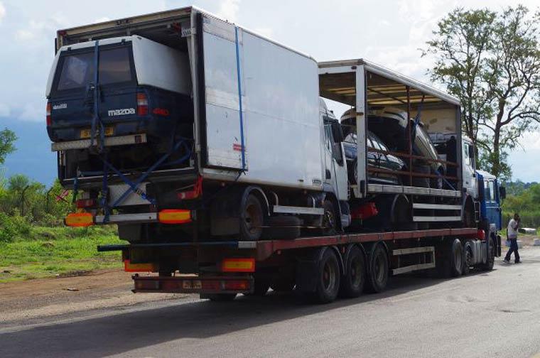 nouveaute transport de voitures par camion