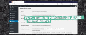 personnaliser url wordpress