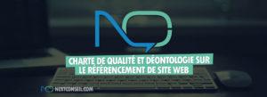 Charte de qualité et déontologie sur le référencement de site web