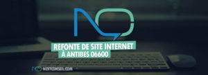 Refonte de site internet à Antibes 06600