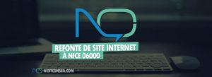 Refonte de site internet à Nice 06000