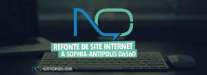 Refonte de site internet à Sophia-antipolis 06560