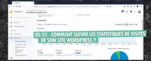 Suivre Statistiques De Visites Site Wordpress