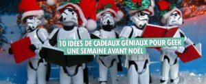 10 Idees Cadeaux Geniaux Geek Noel