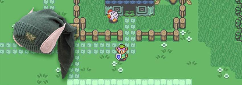 Cadeau Saint Valentin Bonnet Zelda Link Oreilles Elfiques