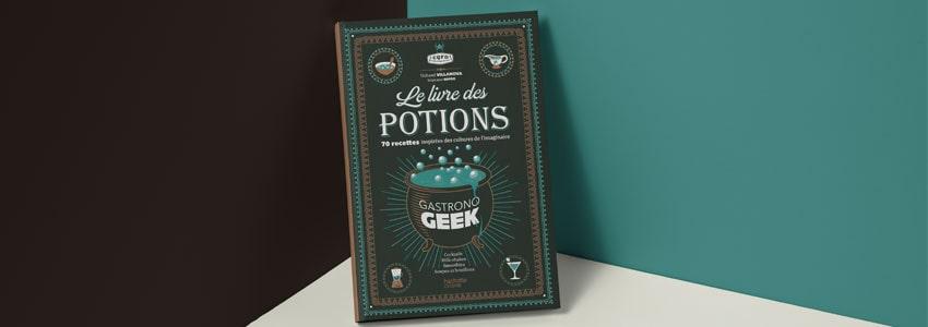 Cadeau Saint Valentin Livre Des Potions Magiques Gastronogeek
