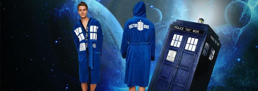 Cadeau Saint Valentin Robe De Chambre Tardis Doctor Who